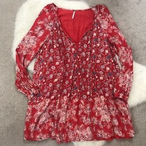 Free People Dresses - Free People Lucky Loosey Boho Dress